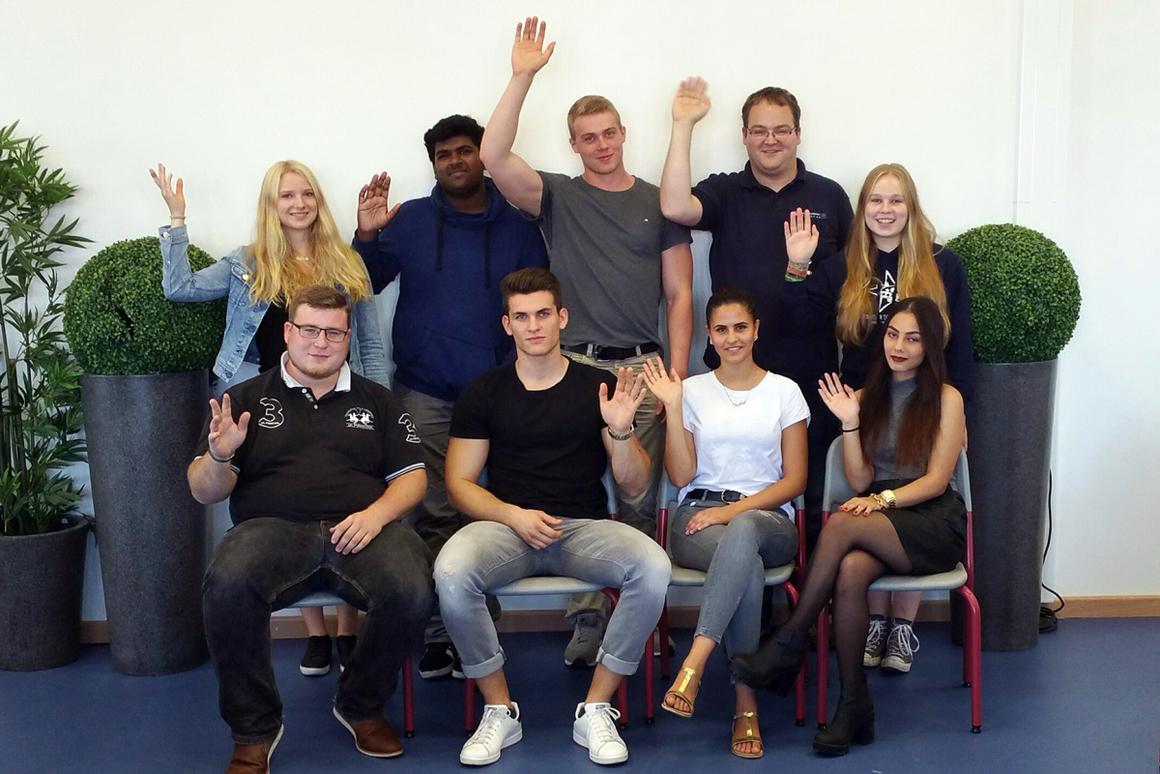 Mitglieder der Schülervertretung 2016/17