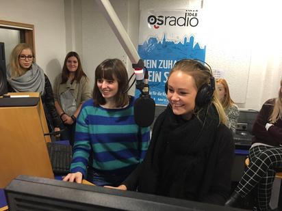 Besichtigung OsRadio