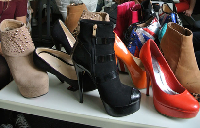 "Schuhe ""Go sexy""- Projekt"