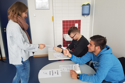 Ausgabe der Wahl-TAN für den Wahlcomputer