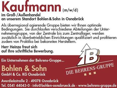 GH Bohlen & Sohn