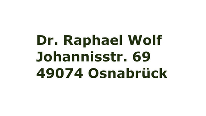 Zahnarztpraxis Dr. Wolfe