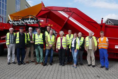 Förderverein besucht Grimme in Damme