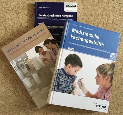 Schulbücher für den berufsspezifischen im MFA-Bereich (Stand: 2014)