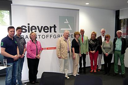 Besuch der Sievert AG durch den Förderverein
